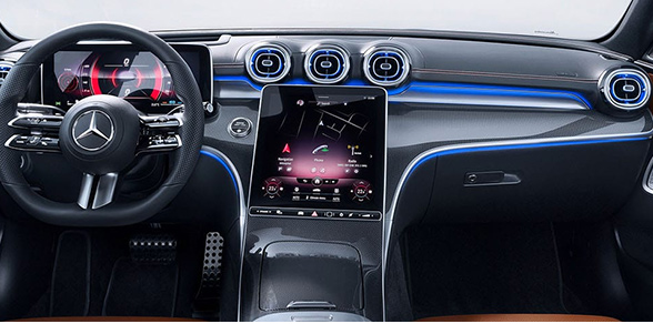 Touchscreen for new 2022 Mercedes Benz