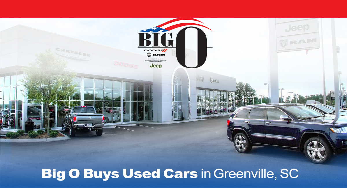 Big O Buys Used Cars in Greenville, SC
