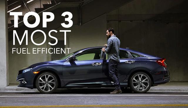 Most Fuel-Efficient 2021 Honda Models in Lexington, KY