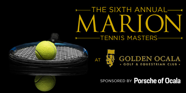 The Sixth Annual Marion Tennis Masters Tournament at Golden Ocala Golf Club