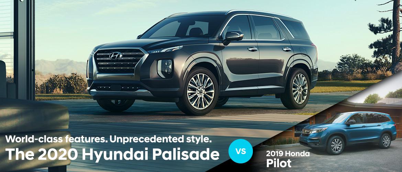2020 Hyundai Palisade vs  2020 Kia Telluride   Bradenton FL