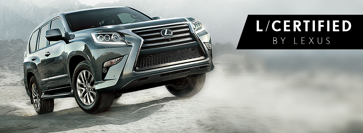 Confidence Commands Its Own Category. Introducing L/Certified By Lexus, A  Collection Of Hand Selected Pre Owned Vehicles That Stand Apart.