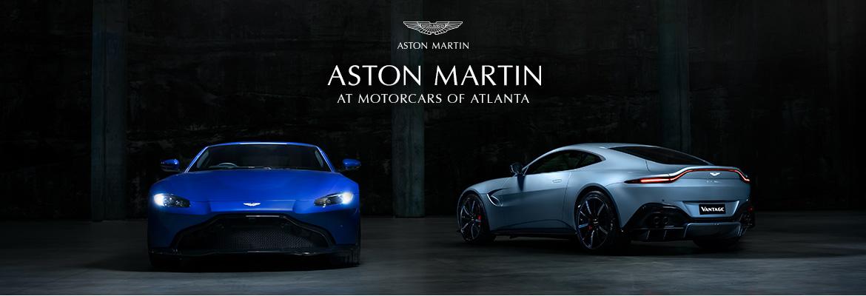 Aston Martin at MotorCars of Atlanta