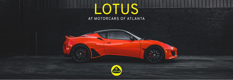 Lotus at MotorCars of Atlanta