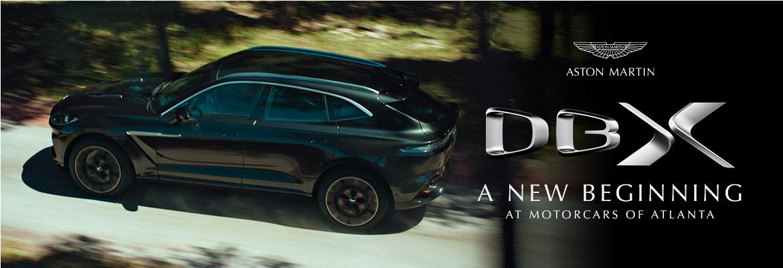 Reserve your 2021 Aston Martin DBX in Atlanta, GA