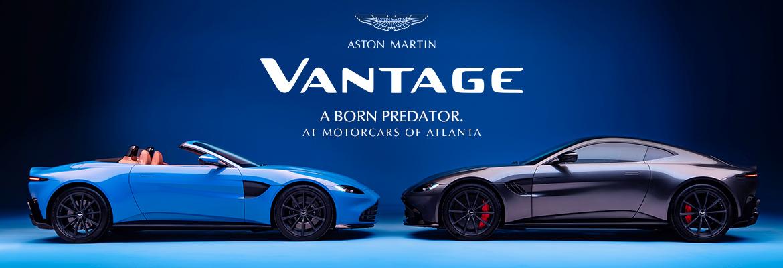 Reserve your 2021 Aston Martin Vantage in Atlanta, GA