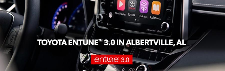 Entune™ 3 0 | Albertville AL | Huntsville & Guntersville