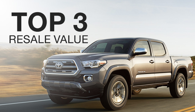 Top 3 Best Resale Value Toyota Models