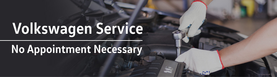 Volkswagen Service - No Appointment Necessary