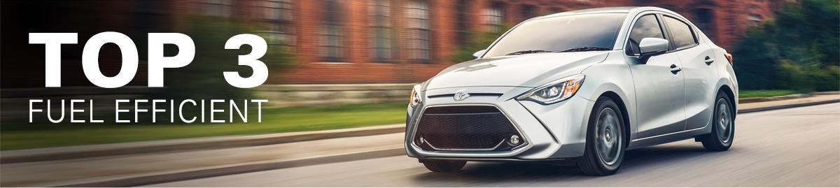 Top 3 Most Fuel Efficient Toyota Models