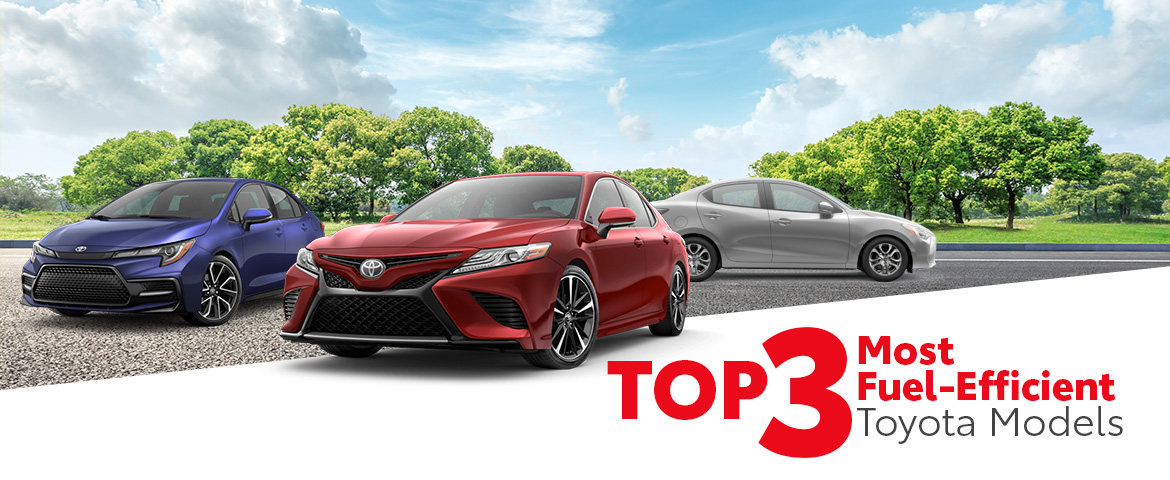 Top 3 Most Fuel-Efficient Toyota Models in York, PA