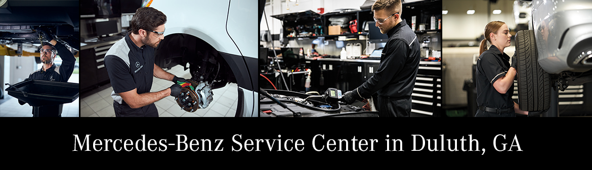Mercedes-Benz Service Center in Duluth, GA