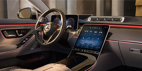 image of S-Class interior