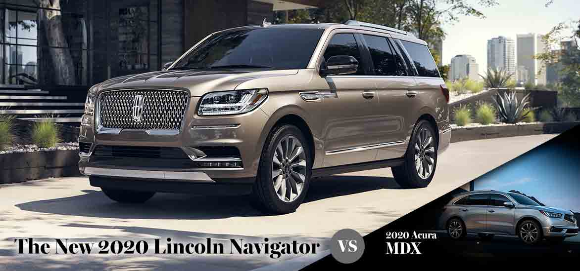 2020 Lincoln Navigator vs. 2020 Acura MDX in Asheville, NC