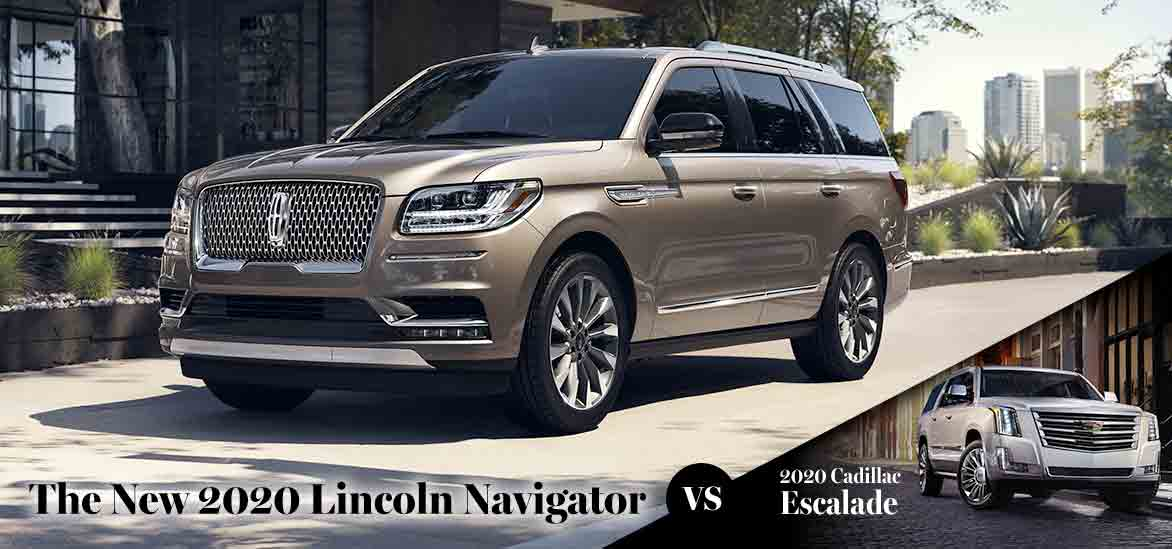 2020 Lincoln Navigator vs. 2020 Cadillac Escalade in Asheville, NC