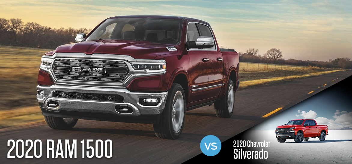 2020 RAM 1500 vs. 2020 Chevrolet Silverado in Greenville, SC