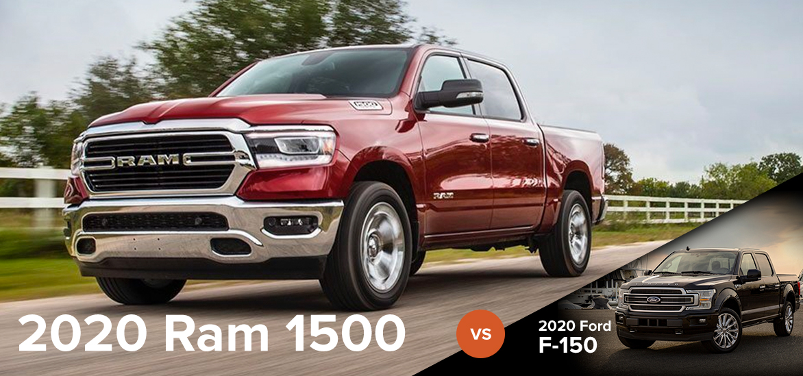 2020 Ram 1500 vs. 2020 Ford F-150 in Clinton, SC