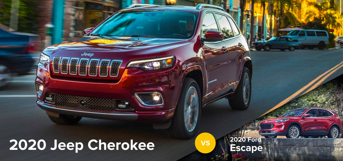 2020 Jeep Cherokee vs. 2020 Ford Escape