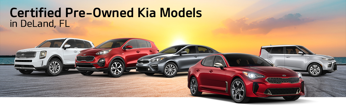 Certified Pre-Owned Kia Models in DeLand, FL