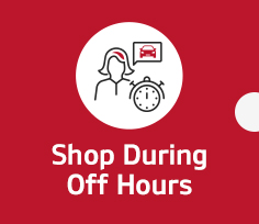 Shop During Off Hours