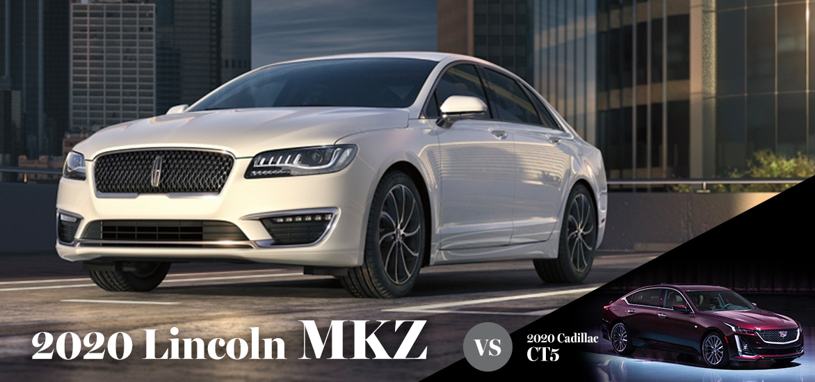 2020 Lincoln MKZ vs. 2020 Cadillac CT5 in Punta Gorda, FL