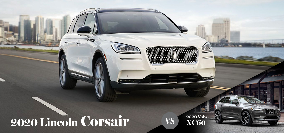 2020 Lincoln Corsair vs. 2020 Volvo XC60 in Punta Gorda, FL