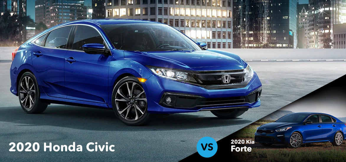 2020 Honda Civic vs. 2020 Kia Forte in Morganton, NC