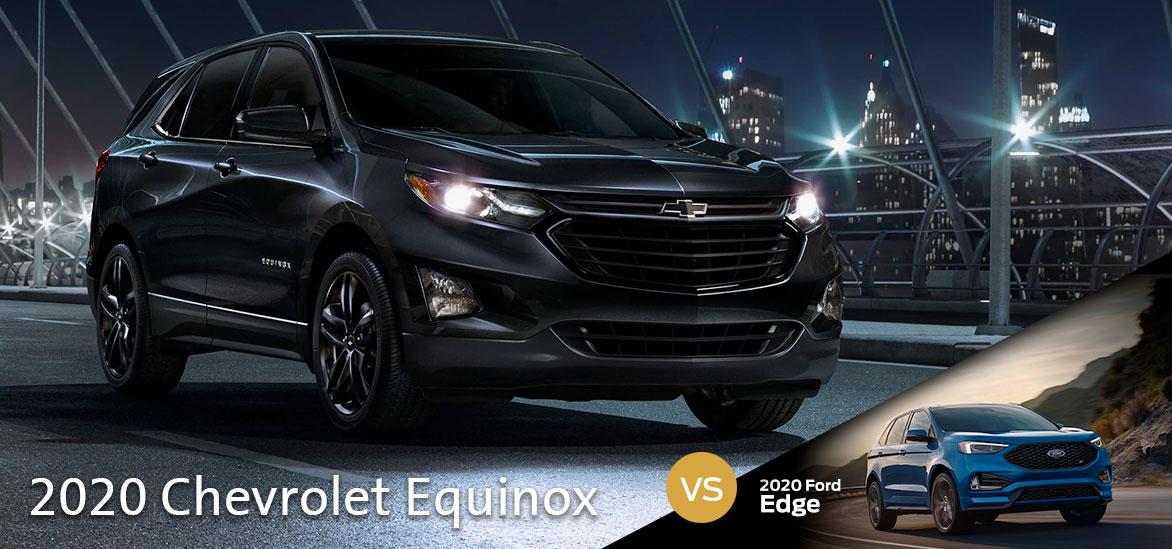2020 Chevrolet Equinox vs. 2020 Ford Edge in Augusta, GA