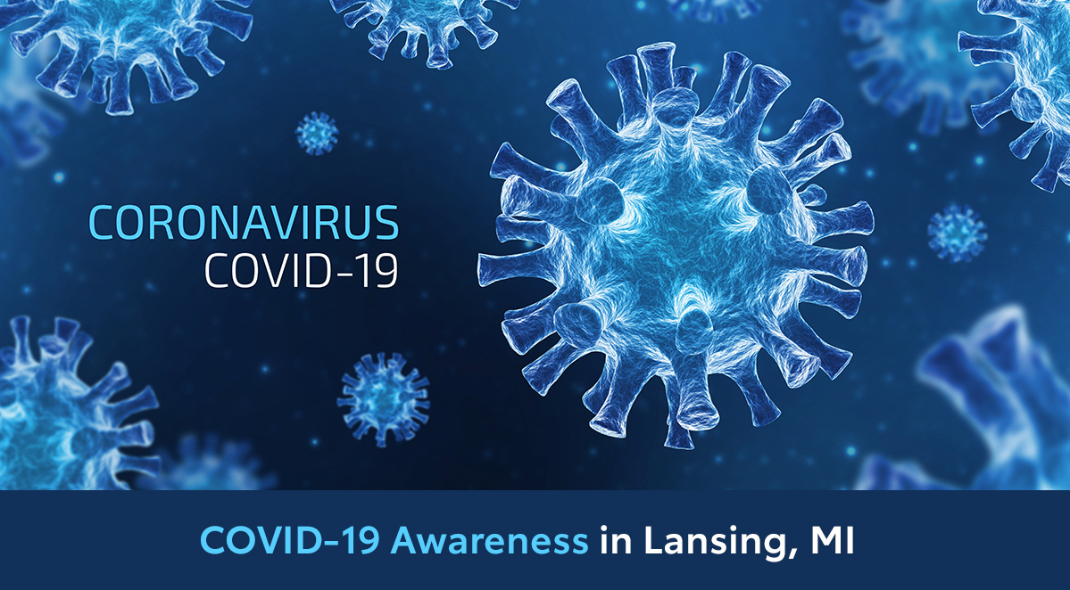 COVID-19 Awareness in Lansing, MI