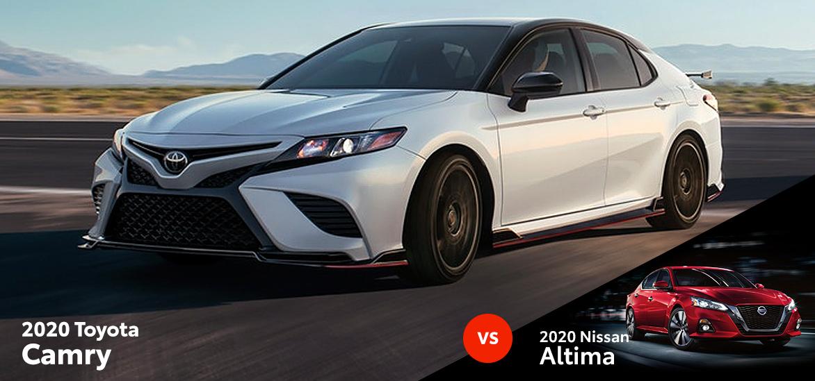 2020 Toyota Camry vs. 2020 Nissan Altima