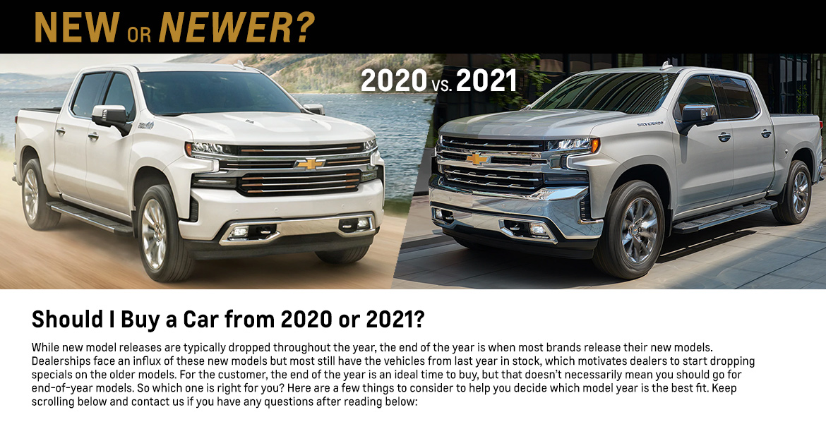 Should I Buy a Car from 2020 or 2021?