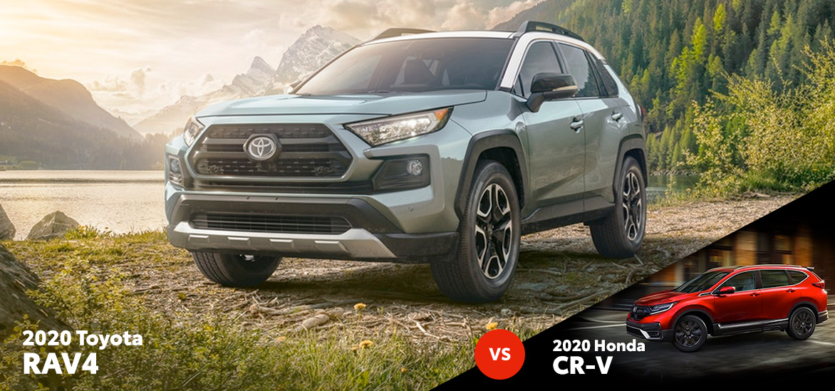 2020 Toyota RAV4 vs. 2020 Honda CR-V in Fort Worth, TX