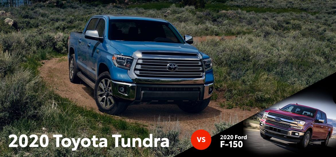 2020 Toyota Tundra vs. 2020 Ford F-150