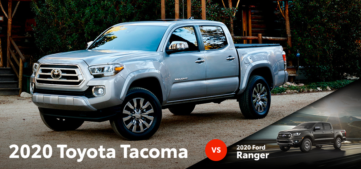 2020 Toyota Tacoma vs. 2020 Ford Ranger in Fort Worth, TX