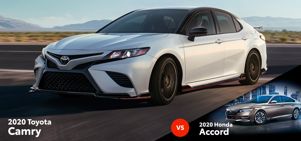 2020 Toyota Camry vs. 2020 Honda Accord in Glendora, CA