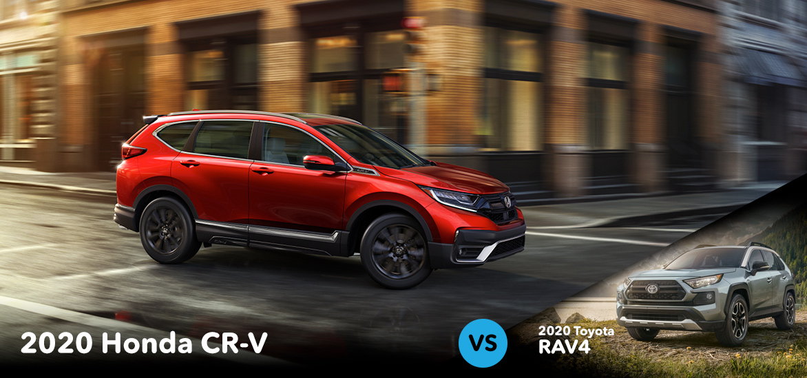 2020 Honda CR-V vs. 2020 Toyota RAV4 in Vero Beach, FL