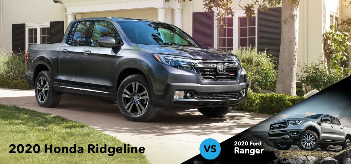 2020 Honda Ridgeline vs. 2020 Ford Ranger in Vero Beach, FL
