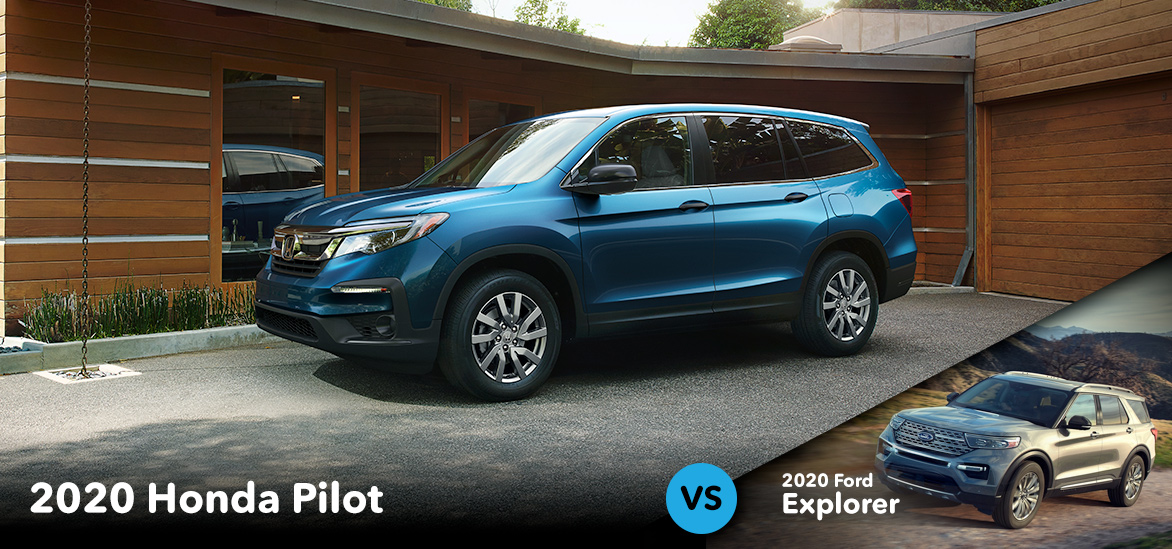 2020 Honda Pilot vs. 2020 Ford Explorer in Vero Beach, FL