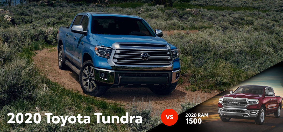 2020 Toyota Tundra vs. 2020 RAM 1500 in York, PA