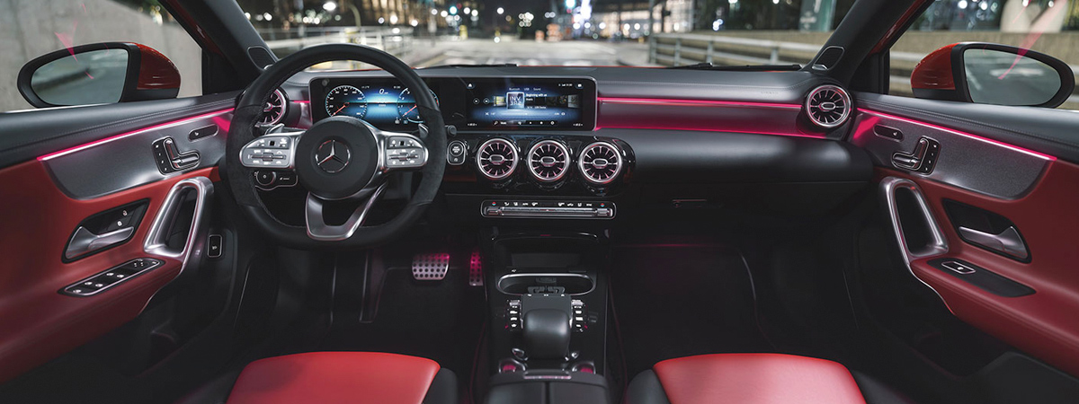 2019 Mercedes Benz A Class Sedan Preview Greenville Sc Serving