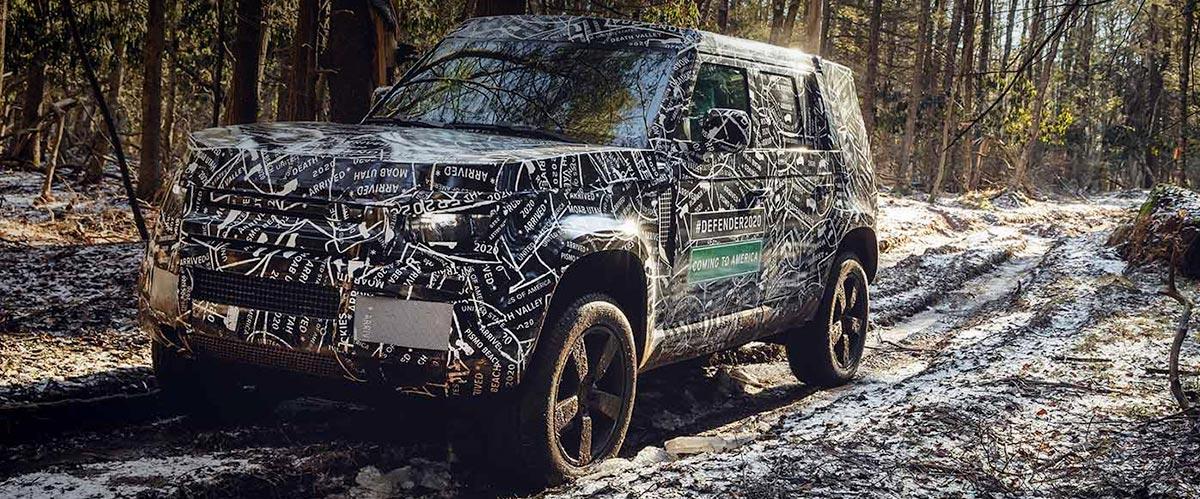 2020 Land Rover Defender Preview | Pre-Order| Land Rover