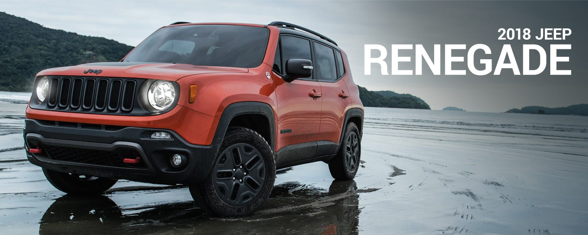 Test Drive The New 2018 Jeep Renegade In Clinton Sc Here