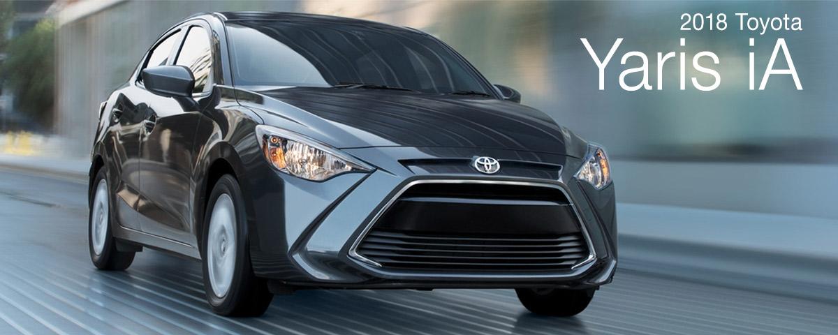 Prince Toyota | 2018 Yaris iA
