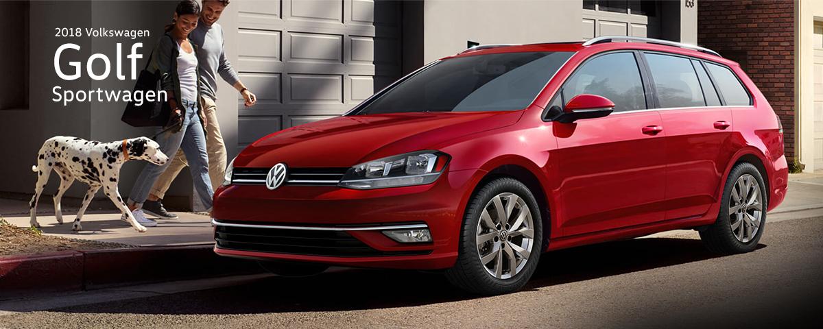 Test Drive The New 2018 Volkswagen Golf Sportwagen In