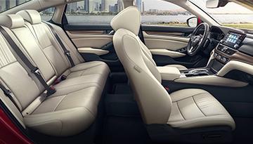 Interior of Honda Accord