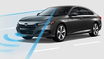 Honda Accord using sonar