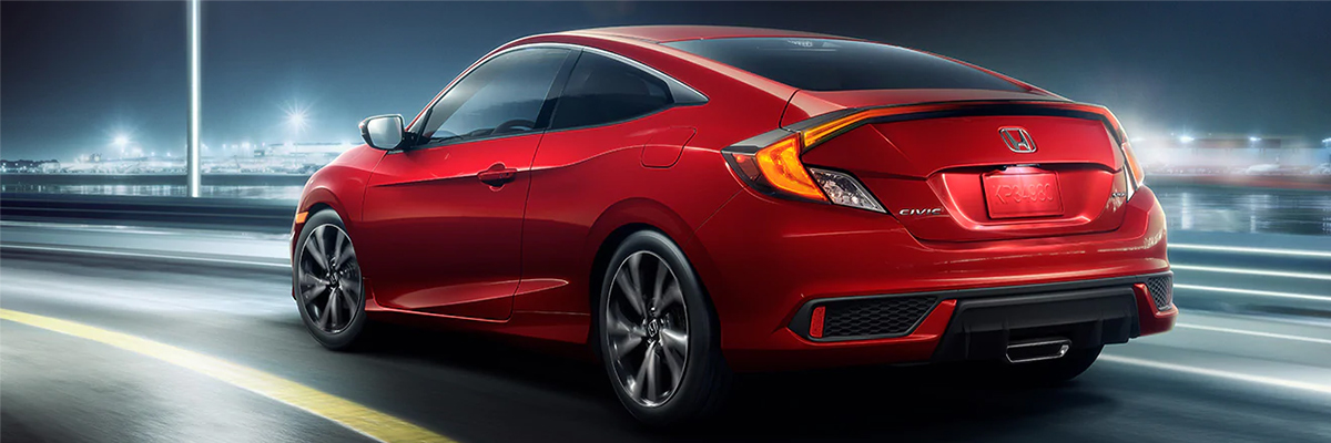 2019 Honda Civic Coupe Red