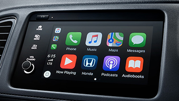 2019 Honda HR-V in dash screen