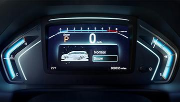 2019 Honda Odyssey dash board