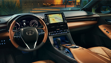 2019 Avalon Hybrid Interior